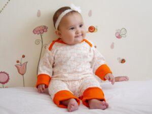 Enterizo naranja-Letizia